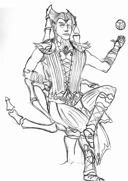 Shinnok Lord Throne His Deviantart