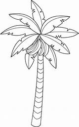 Tree Clip Banana Coloring Outline Clipart Fruit Line Drawing Bananas Colouring Leaf Lineart Bestcoloringpagesforkids Sheet Cliparts Fruits Minion Sweetclipart sketch template