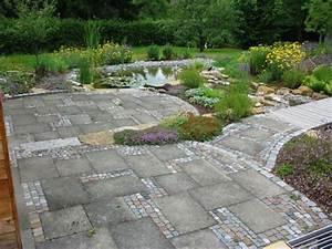 Betonplatten Verlegen Auf Erde : natursteinbel ge von greenteam gartengestaltung ~ Whattoseeinmadrid.com Haus und Dekorationen