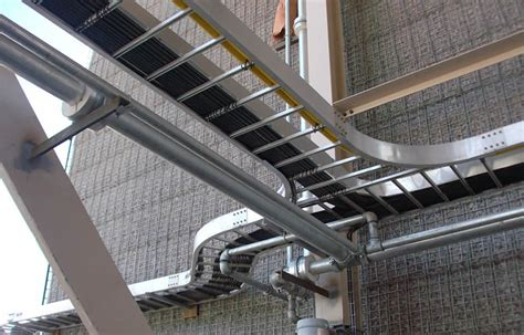 ladder cable tray  rails  large space rungs