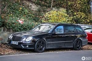 Mercedes 55 Amg : mercedes benz e 55 amg combi 29 november 2014 autogespot ~ Medecine-chirurgie-esthetiques.com Avis de Voitures