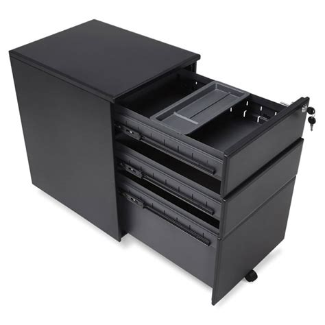caisson bureau noir caisson de bureau quot jefferson quot noir