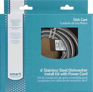 Smart Choice - 6 U0026 39  Deluxe Dishwasher Install Kit