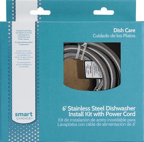 Smart Choice   6' Deluxe Dishwasher Install Kit   Multi at
