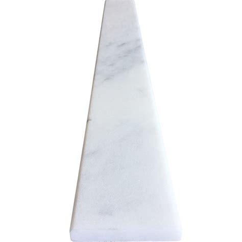 white threshold 4 x 36 saddle threshold white marble stone