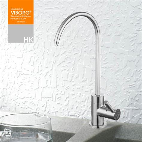 water filtration faucets kitchen aliexpress com buy viborg 304 stainless steel lead free kitchen drinking water filter faucet