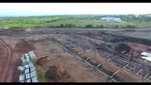LES TRAVAUX DE CONSTRUCTION DU NOUVEAU STADE DE KALEMIE