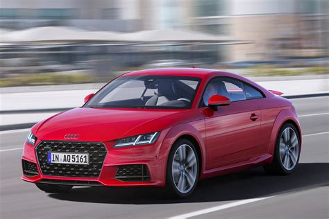 Audi Tt Coupe 2019 by New 2019 Audi Tt Facelifted Coupe And Roadster Revealed