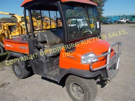 kubota rtv900 diesel side by side atv