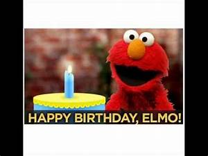 HAPPY BIRTHDAY ELMO - ELMO SINGS BIRTHDAY SONG.wmv - YouTube