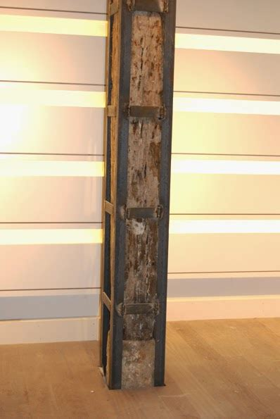reinforcing steel column
