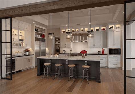 suspension ilot cuisine îlot de cuisine et plan de travail 9 idées d 39 éclairage