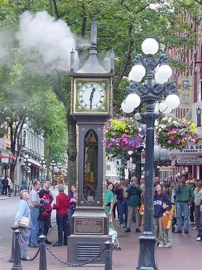 Vancouver Gastown Clock Steam Wikipedia Bc Info