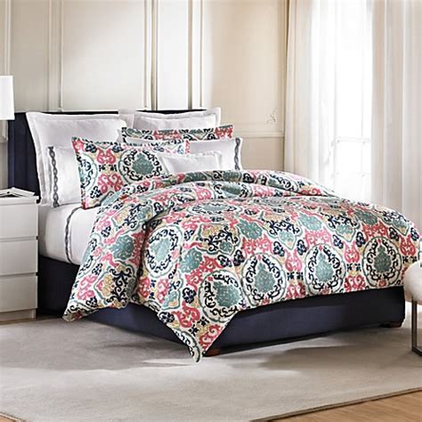 Peacock Alley® Monaco Duvet Cover   Bed Bath & Beyond