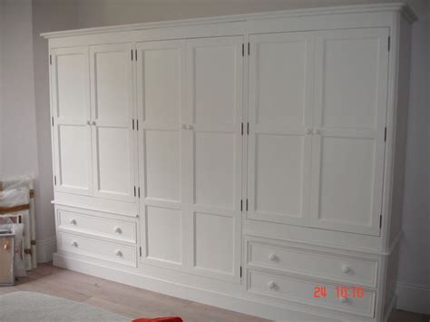 shabby chic fitted wardrobes white painted large 6 door solid pine victorian style shabby chic wardrobe jali handmade