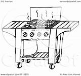 Bbq Grill Clipart Gas Holmes Dennis sketch template