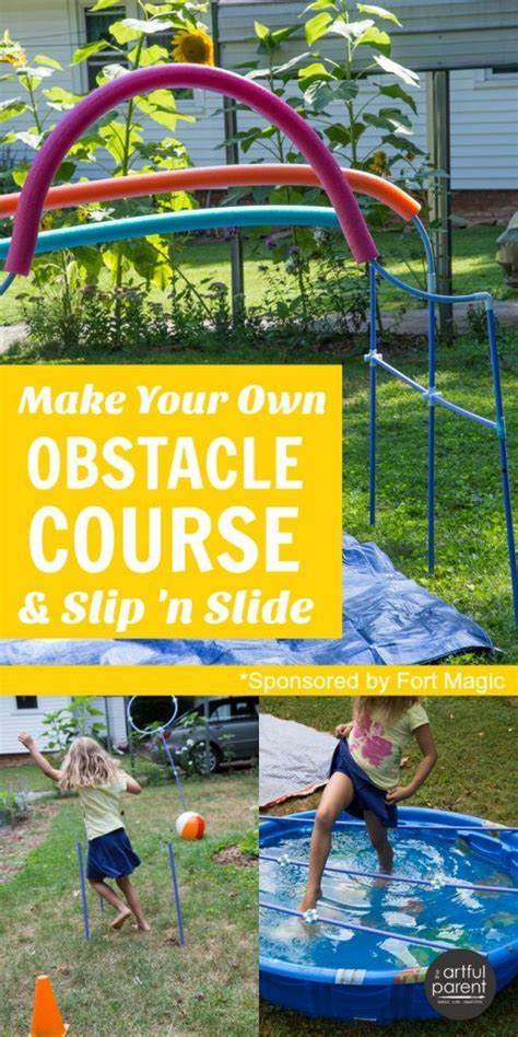 Build Your Own Backyard by Make Your Own Obstacle Course For And Diy Slip N