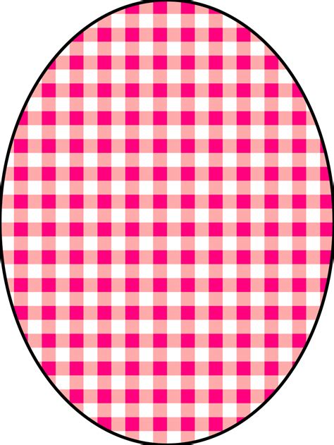 onlinelabels clip art pattern checkered vichy  pink