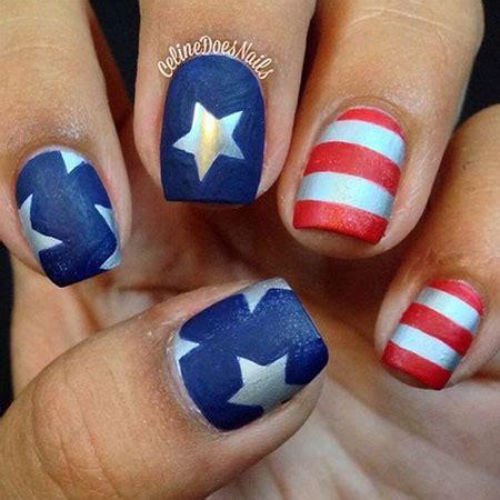 cute simple   july nail art designs ideas