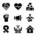 Awareness Cancer Icon Icons Illness Interface Library