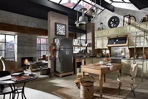 Industrial Style Shop : vintage and industrial style kitchens 12 ~ Frokenaadalensverden.com Haus und Dekorationen