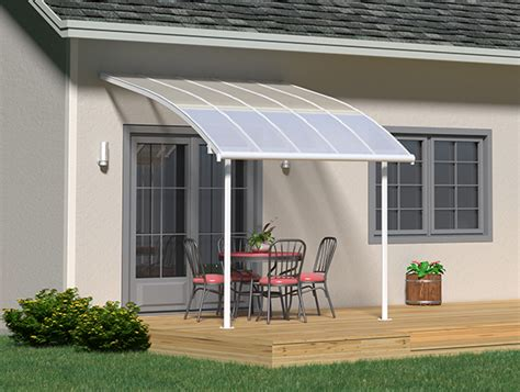 Palram Patio Cover 3x3 by Palram Joya Patio Cover 3x3 05 White Clear Palram