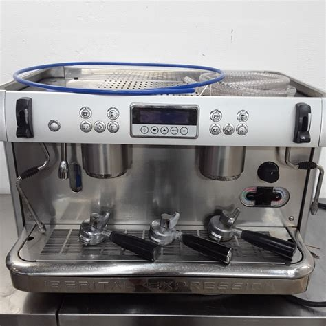 If you need just a small tabletop coffee vending machine or a full size. Used Iberital Coffee Machine 80cmW x 60cmD x 50cmH - H2 ...