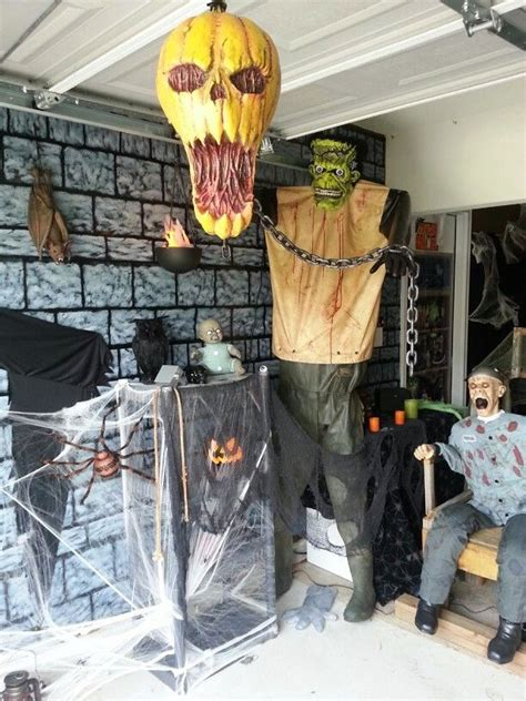 garage halloween decorations ideas decoration love