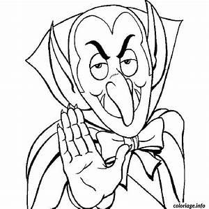 Dessin Halloween Vampire : coloriage halloween vampire ~ Carolinahurricanesstore.com Idées de Décoration