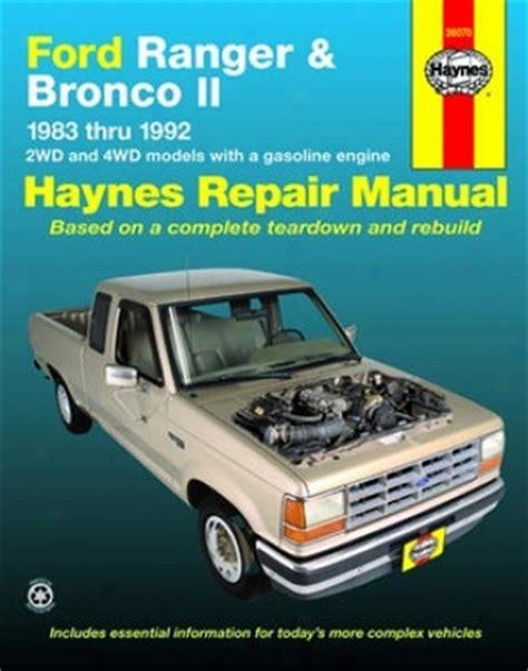 auto manual repair 1985 ford bronco ii regenerative braking buick skylark and somerset olds achieva and calais pontiac grand am haynes repair manual