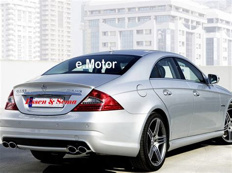 mercedes w219 trunk deck lip spoiler a type cls 350 500