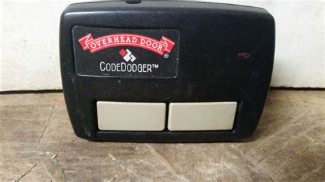 overhead garage door opener overhead door co codedodger garage door opener visor