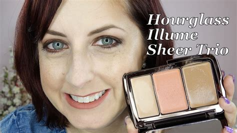 sheer color hourglass illume sheer color trio sunset