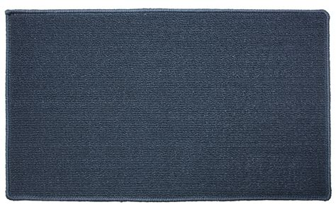 solid color kitchen rugs j m home fashions blue solid kitchen mat 18x30 accent 5597