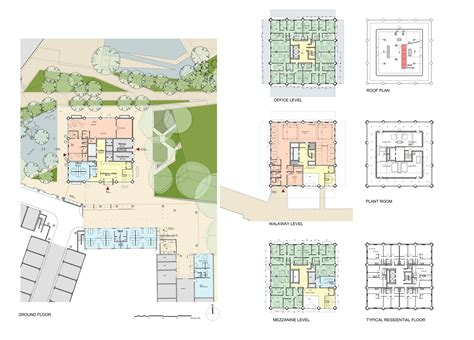 grenfell tower building floor plans  architect
