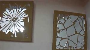 Diy wall decor mirror mosaic