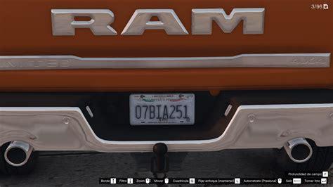 Mexico License Plates