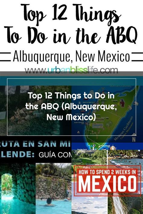 Top 12 Things To Do In The Abq Albuquerque New Mexico