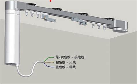 popular automatic curtain rail buy cheap automatic curtain