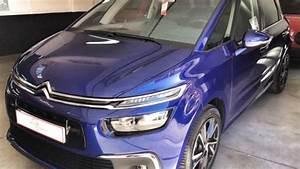 Citroën C4 Picasso Feel Versions : entrega citroen c4 picasso 1 6 hdi 120cv feel azul lazuli quiero comprar un coche madrid ~ Medecine-chirurgie-esthetiques.com Avis de Voitures