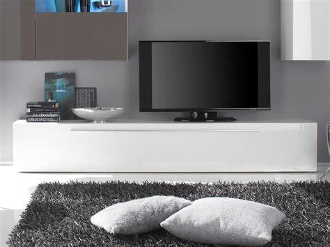 moebel eins de portia tv unterteil wei 223 hochglanz lackiert