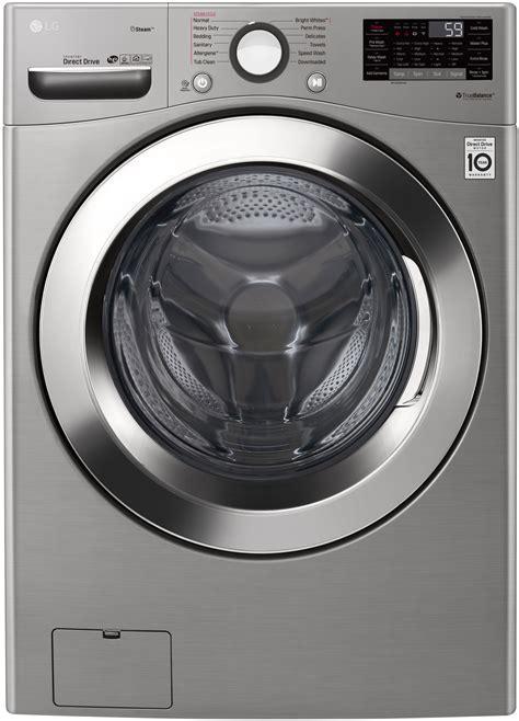 LG Graphite Steel Front Load Steam Washer   WM3700HVA