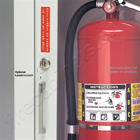 larsen extinguisher cabinets 2409 6r larsen s stainless steel semi recessed 2 1 2 quot projection