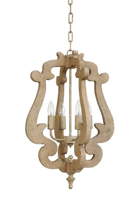wood chandelier farmhouse kitchen products to get the fixer look Farmhouse