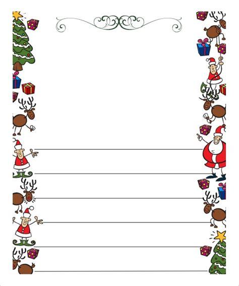christmas list doc letter template doliquid