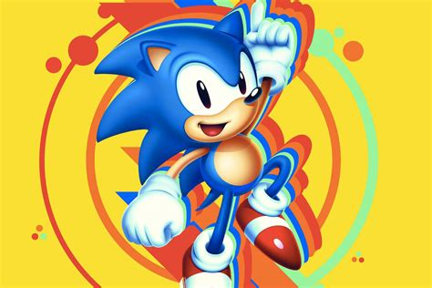 sonic mania  coming  summer   characters