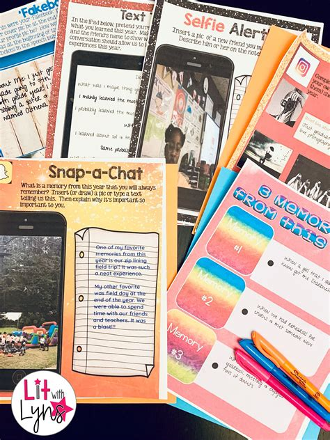 End of Year Activities | Digital & Printable | Distance ...
