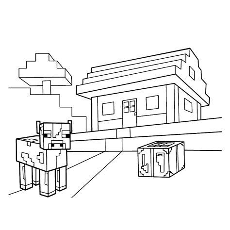 Kleurplaat Huis Met Klimop by Leuk Voor Huis Met Een Koe