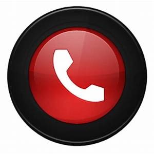 Phone Reject Alt Icon - Uto Circle Icons 1-4 - SoftIcons.com