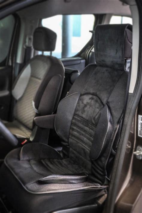 sur siege voiture couvre siège grand confort pour les sièges avant de la voiture